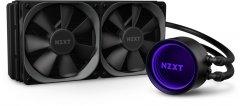 Система жидкостного охлаждения NZXT Kraken X63 - 280 мм AIOLiquid Cooler with RGB LED (RL-KRX63-01)