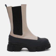 Ботинки Ashoes 4988 БЛ ЧМ 40 25.5 см Бежевые
