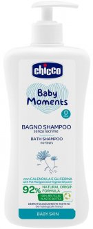 Шампунь для тела и волос Chicco Baby Moments Без слез 750 мл (10592.00)