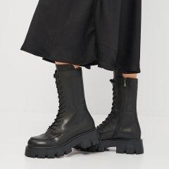 Ботинки Palmyra Ж-505-21021-21021чкр 38 24 см Черные