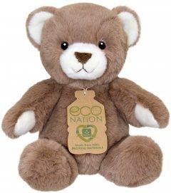 Игрушка мягконабивная Aurora Eco Медведь коричневый 25 см (4894860000000)