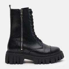 Ботинки LeoModa 21215/1 39 (25 см) Черные (LM_2000000003252)