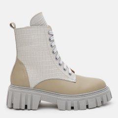 Ботинки LEOMODA 21222/31 38 24.5см Оливково-серые (LM_2000000003733)