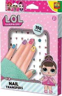 Набор наклеек для ногтей Ses Creative серии L.O.L Surprise! – Модный Лук 198 шт (14193S)