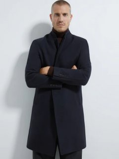 Пальто Zara 3057/590/401 S Черное (03057590401028)