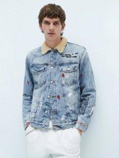 Куртка джинсовая Zara 5575/493/406 S Синий джинс (05575493406028)