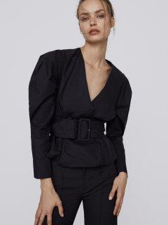 Блузка Zara 7563/249/800 S Черная (07563249800020)