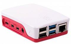Корпус для миникомпьютера Raspberry PI RA547 Red/White