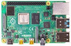 Миникомпьютер Raspberry PI 4 Model B 2GB (RPI4-MODBP-2GB)