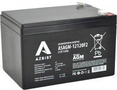 Аккумуляторная батарея AZBIST Super AGM 12V 12.0Ah (ASAGM-12120F2)
