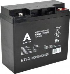Аккумуляторная батарея AZBIST Super AGM 12V 20.0Ah (ASAGM-12200M5)