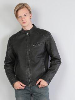 Куртка из искусственной кожи Colin's CL1036130BLK S
