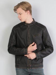 Куртка из искусственной кожи Colin's CL1036130DBR S