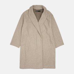 Пальто Zara 3046/268/711 2XL Бежевое (03046268711064)