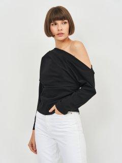 Блузка Zara 8640/409/800 L Черная (08640409800041)