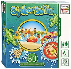 Логическая игра Eureka 3D Puzzle Плыви или тони (473542) (5425004735423)