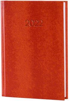 Ежедневник датированный Economix 2022 352 страницы Snake оранжевый А5 (E21633-06)