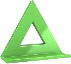 Магнит Dahle Mega Delta 75x75 мм Зеленый (4009729068007)