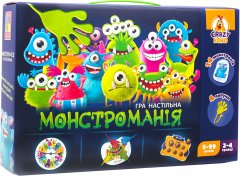 Настольная игра Vladi Toys Монстромания с липучками (укр) (VT8044-23) (4820195057049)