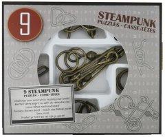 Набор головоломок Eureka 3D Puzzle 9 Steampunk Puzzles (473207) (5425004732071)