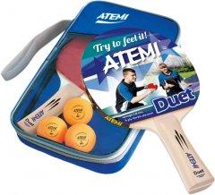Набор для настольного тенниса Atemi Duet (2 р + 3 м + чехол) (NTT20021)