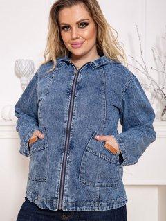 Куртка джинсовая New Trend Women UPL-125254 50 Голубая (9990003224033)