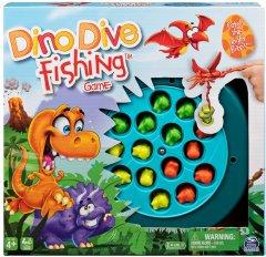 Настольная игра Spin Master Веселая рыбалка Динозаврики (SM98269/6061077) (778988390498)