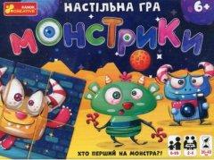 Настольная игра Ranok-Creative Монстрики (12120077У) (4823076144487)