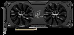 Palit PCI-Ex GeForce RTX 3070 JetStream OC LHR 8GB GDDR6 (256bit) (1500/14000) (3 x DisplayPort, HDMI) (NE63070T19P2-1040J-LHR)