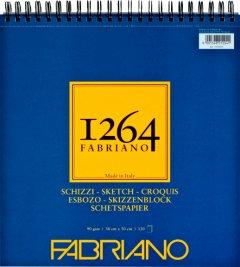 Альбомдля рисунка и эскизовFabriano 126430х30 см 90г/м2на спирали120 листов Слоновая кость (8001348212041)