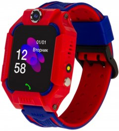 Смарт-часы Discovery iQ5000 Camera LED Light Red