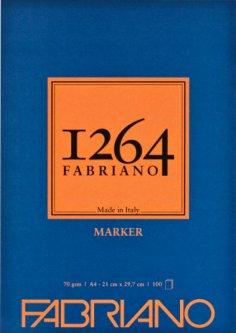Склейка для маркеров Fabriano 1264 А4 70г/м2 100 листов (8001348212065)