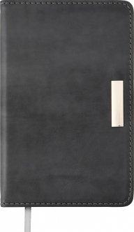 Ежедневник датированный Buromax Salerno A6 на 336 страниц Серый (BM.2530-09)