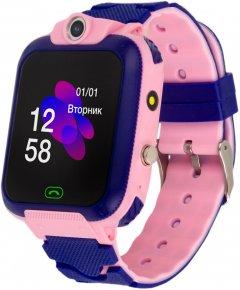 Смарт-часы Atrix iQ2400 IPS Cam Flash Pink