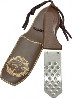 Нож-скребок из нержавеющей стали для рыбы Acropolis НС-2