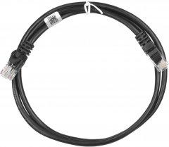 Патч-корд 2E CAT5e UTP RJ-45 26AWG 7/0.16 Cu 1 м PVC Черный (2E-PC5ECOP-100BK)