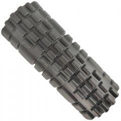 Массажный ролик USA Style LEXFIT валик 34х13 см Черный (LKEM-4017)