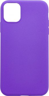 Панель Dengos Carbon для Apple iPhone 11 Purple (DG-TPU-CRBN-38)