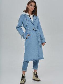Тренч джинсовый Mila Nova Q-40 48 Голубой (2000000022802)