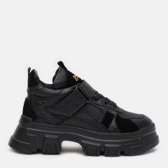Ботинки Palmyra Ж-518-002-3348чк/чмат 40 26 см Черные (ROZ6400185733)