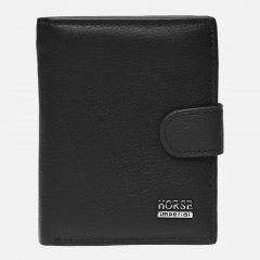 Мужской кожаный кошелек Laras K10010a Черный (ROZ6206118224)
