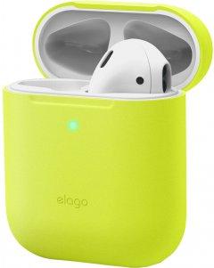 Чехол Elago Skinny Case Neon Yellow for Airpods (EAPSK-BA-NYE)