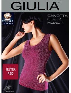Спортивная майка Giulia Canotta Lurex 01 L/XL Jester red (4823102941875)