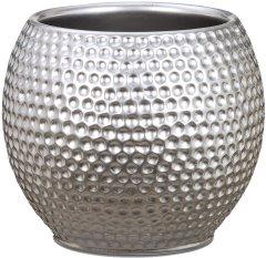 """Кашпо для цветов Scheurich Mercury 15"""" керамика Серебристый (4002477622200)"""