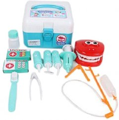 Игровой набор Qunxing Toys Доктор стоматолог 12 элементов (4812501167689)