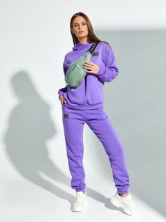 Спортивный костюм ISSA PLUS SA-329 L Фиолетовый (issa2007682104215)