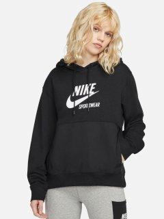 Худи Nike W Nsw Flc Hoodie Htg DD5673-010 XS (195239532023)