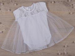 Боди-платье BetiS Нежность 27682075 к.р. 86 см Белое (2980090180999)