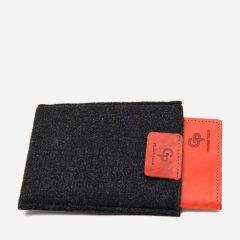 Обложка для паспорта кожаная Grande Pelle leather-11483 Красная
