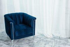 Кресло Vetro Mebel Джованни Индиго (Giovanni-ind-vlv-armchr)